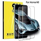 2 Pack Film de Protection Huawei Honor 10 Verre Trempé Film de Verre Transparente Curved Tempered Glass Protecteur d'écran en HD Verre Dureté 9H Vitre de Protection pour Honor 10