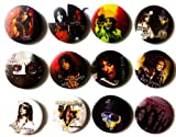 """Alice Cooper fan Awesome Quality Lot of 12 New Pins Pinbacks Buttons Badge 1.25"""""""