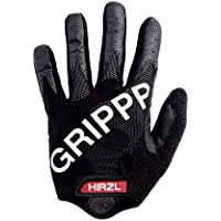 Hirzl Grippp FF - Guantes largos de ciclismo unisex, color negro, talla M