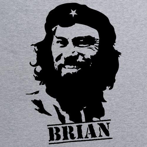 Che Brian Blessed T-Shirt, Herren Grau Meliert