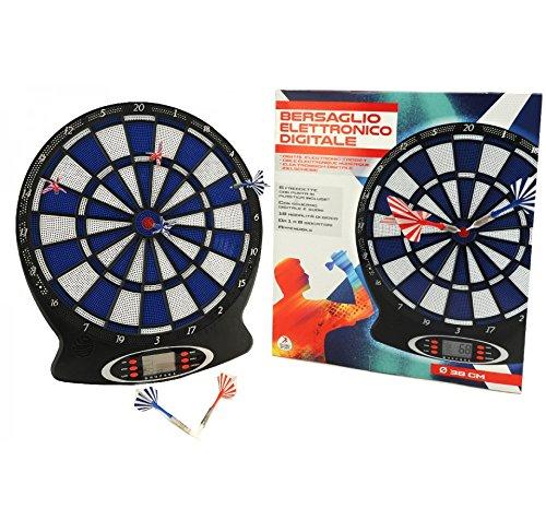 Globo Toys 3786138x 43cm Sommer Elektronische Dartscheibe mit 6Dart