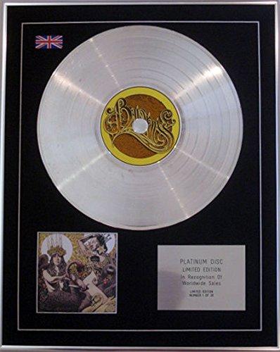 BARONESS Ltd Edition CD-Platinum, verde & disco, colore: giallo