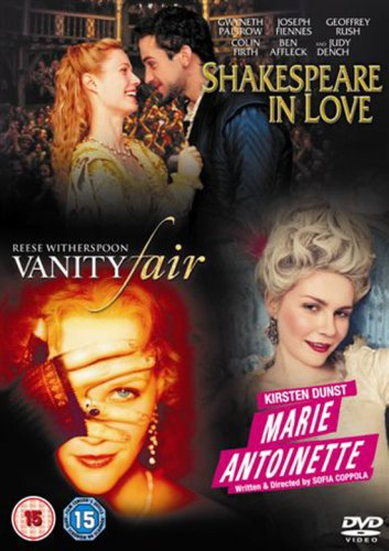 Price comparison product image Shakespeare In Love/Marie Antoinette/Vanity Fair [DVD]