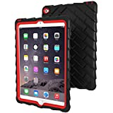 Gumdrop Cases iPad Air 2 Protective Case - Drop Tech Series, Black/Red (DT-IPADAIR2-BLK_RED)