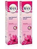Veet Haarentfernungs Haarentfernung Creme für normale Haut mit Lotus Milch 200ml (2)