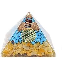 Humunize Torquise mit Bleistift Orgon Pyramide Chakra-Energie-Generator Reiki Stein Fen Shui Geschenk preisvergleich bei billige-tabletten.eu