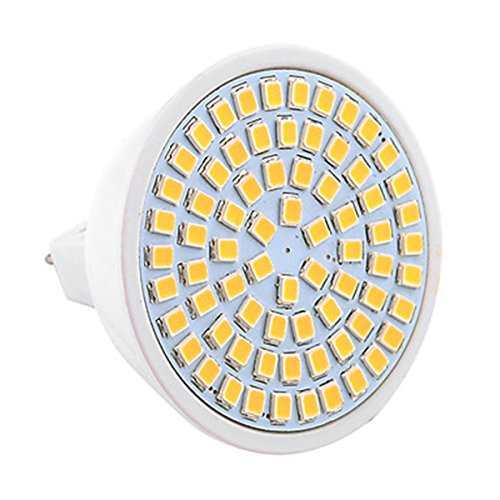 JIALUN-LED MR16 72LED 7W 2835SMD 600-700Lm Blanco cálido Blanco frío LED proyector...