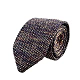 Outflower Pfeil Form Schmale Strickkrawatte Herren Gestrickte Krawatte für Hochzeit zeigt Fotografie