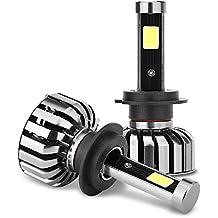 1Set N7Auto LED Luz Faro para H1H3H7H8/H9/880/885H1190059006/HB4H4/HB2/9003H4H1390049007120W 12000LM Vehículo Auto Bombilla 6000K Auto Faro LED Cool White 40W/PC 4000LM/Bulb