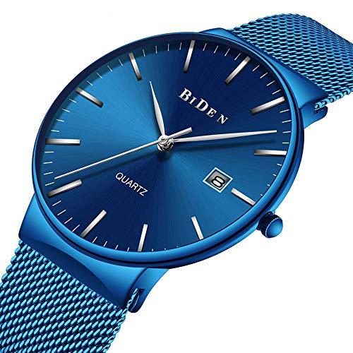 Cqing Reloj Minimalista Moda Hombres Reloj Cuarzo