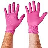 Supermax 78887Aurelia Blush guantes de nitrilo,...