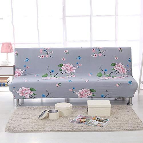 LYX1,Sofabezug Sofaüberwurf Armless Sofa Elastic Full Enveloped Faltbarer Schlafsofa Stoffbezug Geeignet für 165-195 cm (Farbe : 7)