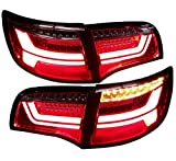 LED Rückleuchten Heckleuchten RA23LRC Laufblinker Lightbar (red/clear)