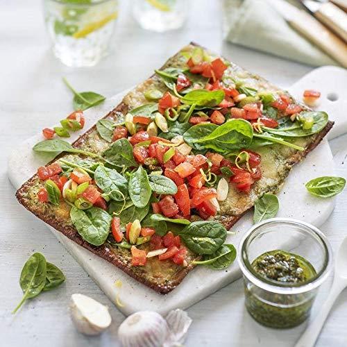 Lizza Low Carb Pizzaböden aus Leinsamen und Chiasamen - 2