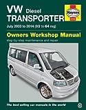 VW T5 Transporter (July 03 - 14) Haynes Repair Manual (Haynes Service and Repair Manuals)