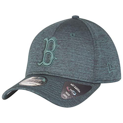 New era cappellino 39thirty dryswitch red sox berretto baseball cap s/m (54-57 cm) - verde scuro