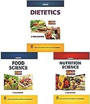 Dietetics - Multi Colour Edition + Food Science (Multi Colour Edition) + Nutrition Science (Multi Colour Editi