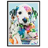 Mosstars Painting 5D DIY Diamant Malerei Stickerei Malerei Teil Runde Diamant Malerei Wohnkultur Geschenk Embroidery Painting Cross Stitch Bedroom Living Room Office Decoration30x40cm