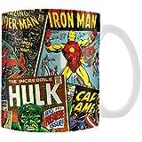 Marvel Retro Covers Ceramic Boxed Mug, Multi-Coloured