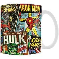 Pyramid International Marvel Boxed Mug Retro Covers