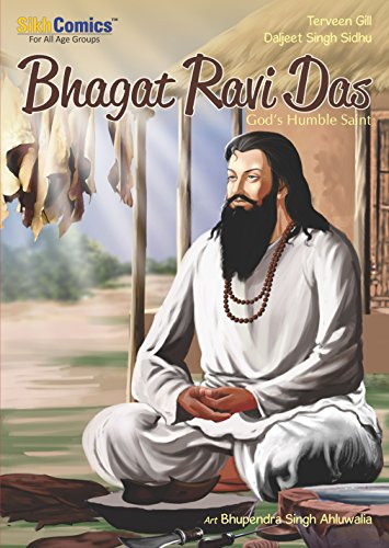 Bhagat Ravi Das: God's Humble Saint (Sikh Comics) (English Edition)
