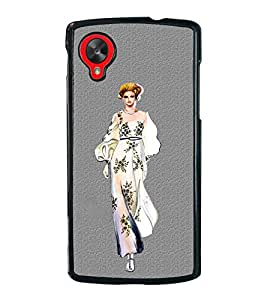 Girl on Ramp 2D Hard Polycarbonate Designer Back Case Cover for LG Nexus 5 :: LG Google Nexus 5