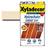 Xyladecor Holzschutz-Lasur 2in1 Weißbuche 0,75 Liter - schützt vor Nässe & UV-Licht | betont die Holzmaserung