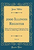 2000 Illinois Register, Vol. 24: Rules of Governmental Agencies; Issue 29, July 14, 2000; Pages 10, 030 10, 546 (Classic Reprint)