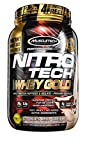 Muscle Tech NitroTech Whey Gold 100 Percent Whey Protein Powder, 1 kg, Cookies