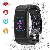 Leestar Fitness Trackers Farbbildschirm Fitness Armband mit Integriertem GPS &