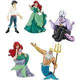 Bullyland La Sirenita 5 partes Set - Ariel Tritón Úrsula Príncipe Eric
