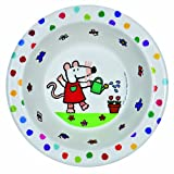 Petit Jour Maisy Mouse Melamine Bowl - In the Garden design