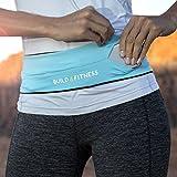 Cinturón de correr, riñonera deportiva, adaptar su llave, adapta su iPhone 6,7,8 plus, X. para Gimnasio ejercicio, Ciclismo, Caminar, Correr, Yoga, deporte, viajes y actividades al aire libre