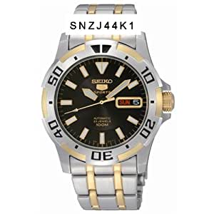 Seiko Men's Seiko 5 Automatic Sports Bracelet Watch - SNZJ44K1