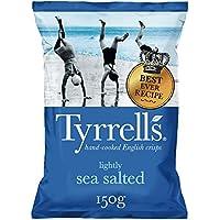 Tyrrell's, Patata de bolsa (Saladas con Sal Marina) - 12 de 150 gr. (Total: 1800 gr.)