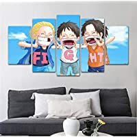 CHLCH Wall art poster,Japanese anime One Piece home children