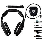 Gam3Gear 2.4GHz Wireless Stereo Gaming Kopfhörer mit Mic Tiger für Xbox One Xbox 360 PS4 PS3 PC Mac
