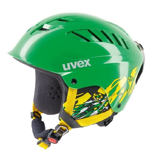 Skihelm Uvex x-ride junior motion GJ 11/12 S566127 Modell 2013, Farbe:green/yellow;Größe:XXS-S