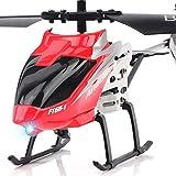 Kikioo Mini-hélicoptère volant gyroscopique intégré pour enfants Jouets pour avions radiocommandés Avion télécommandé micro-canaux 3.5 canaux Nouveau pour plus de stabilité Jouets/jeux/enfants/e