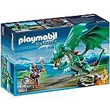 Playmobil - A1502759 - Jeu De Construction - Chevalier + Grand Dragon