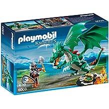 Playmobil - 6003 - Jeu De Construction - Chevalier + Grand Dragon
