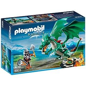 PLAYMOBIL Caballeros - Playset Gran dragón (6003) 7