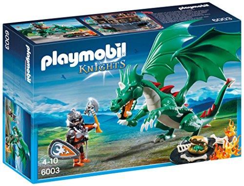 PLAYMOBIL Caballeros - Playset Gran dragón (6003) 1