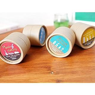 Kcopo Klassische 4 Stile Metall Lesezeichen Souvenirs mit Aufbewahrungsbox Verschiedene Muster Lesezeichen als Geschenk 20 Stück Silber