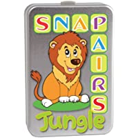 Cheatwell Games Jungle Snap and Pairs Memory Card Game