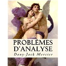 Problèmes d'analyse (Dossiers mathématiques)