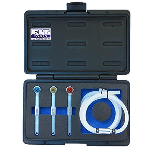 Ajuste Herramientas Mini 8, 10, 12mm manguera de aceite embrague purgador de freno con llave y válvula de retención