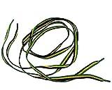 Schnürsenkel, Farben der Jamaikanischen Flagge, Rasta, Reggae, Paar 100x 1cm