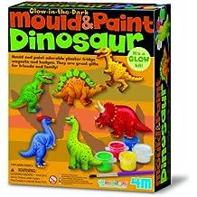 4M 68381 - Jeu De Travail - Mould & Paint - Dinosaure
