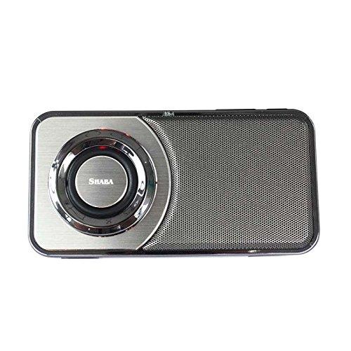 Bluetooth Lautsprecher,10Watt, Portabel, Bluetooth 4.2, Hifi Stereo Sound Stereo HD Hände frei FM Radio AUX-Leitung kompatibel drahtlose Lautsprecher für Zuhause, Outdoor, Reisen